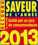 Illustration : Logo reconnu saveur de l'année