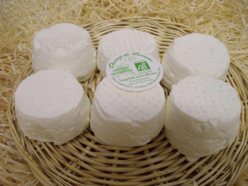fromages de ch vre nature p te lactique ab etiktable le portail de l 39 alimentation. Black Bedroom Furniture Sets. Home Design Ideas