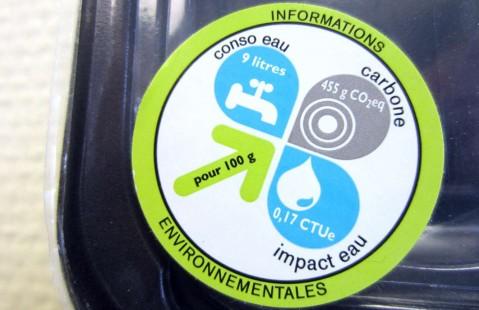 Exemple d'étiquetage environnemental